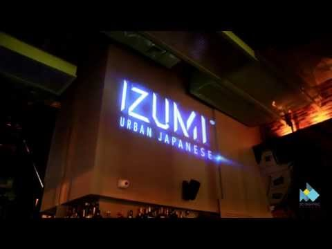 IZUMI Urban Japanese Restaurant/Pub 3D Video Mapping HD