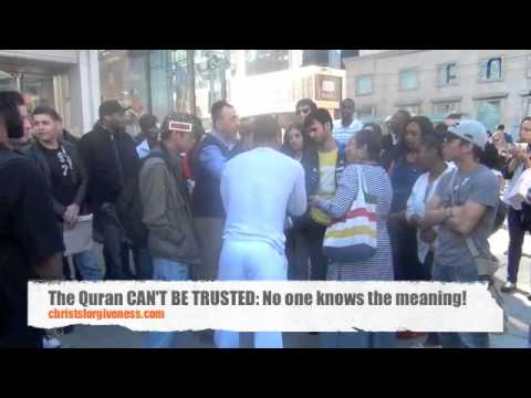 The Quran CAN NOT be trusted:  No one knows its meaning!