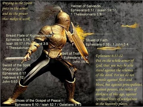 "Full Armor of God Bible Study ""Using Scripture to Interpret Scripture"" Spiritual Warfare Part 1"