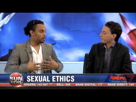 Sun News: Street Preacher Christian vs Athiest