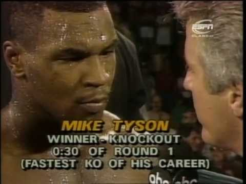 Mike Tyson VS Marvis Frazier 1986-07-26