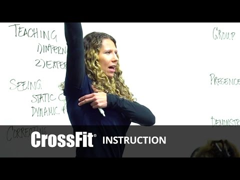 CrossFit - Seeing Sound Movement Mechanics with E.C. Synkowski