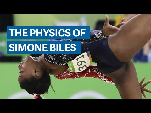 The gravity-defying physics of Olympic Gold Medalist Gymnast Simone Biles - Health Fitness India