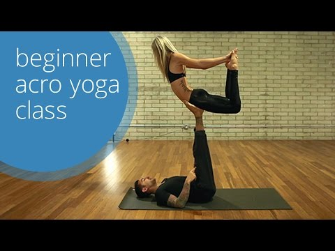 Beginner Acro Yoga Class (Free) with Dylan Werner Yoga & Ashley Galvin - Health Fitness India