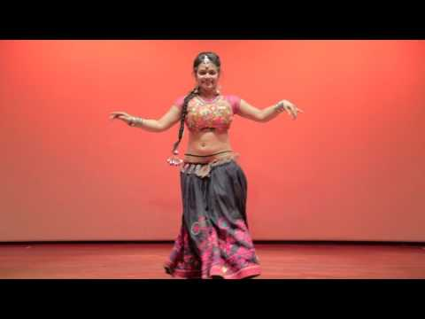 Anusha Hegde - Sublime (Indian classical & Belly Dance Fusion) - Dance With Me India
