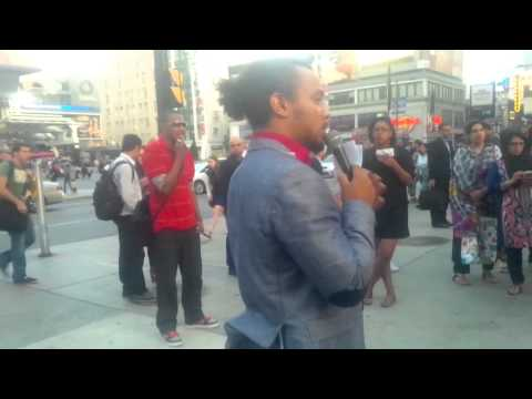 Street Preacher discusses - If the Bible is False, Islam is False!