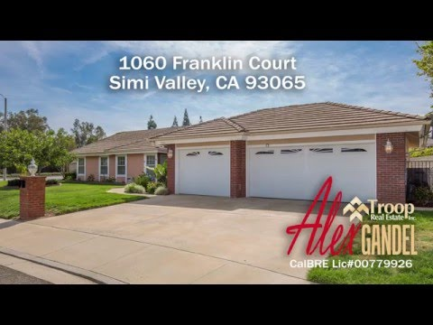 1060 Franklin Court in Simi Valley For Sale
