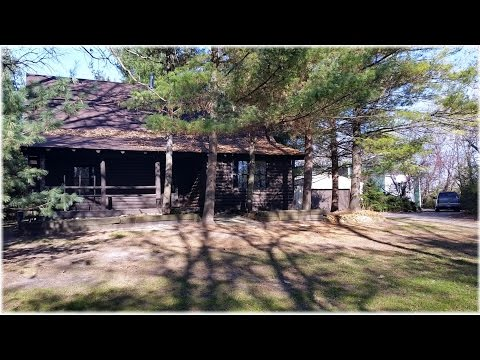 Log Cabin on 5 Acres - Woodstock, IL - Foreclosure