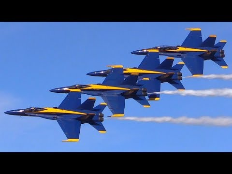 Blue Angels NAF El Centro Air Show 2018