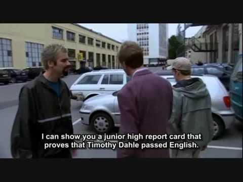 Ce ne sont pas tous les norvégiens qui parlent anglais...