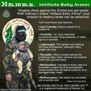 Intifada baby armour