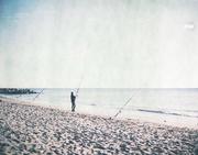 Sunday morning fisherman