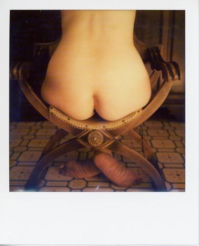 Nudo su sedia #2 - selfportrait