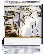 Pierluigi Vannozzi - In studio 3 - polaroid originale