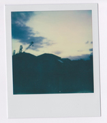 Antistress - Tramonto - Polaroid ( Impossible 600 color ) - 2015