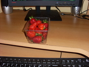 Strawberry on desktop!