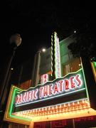 Culver Pacific Theatres marquee