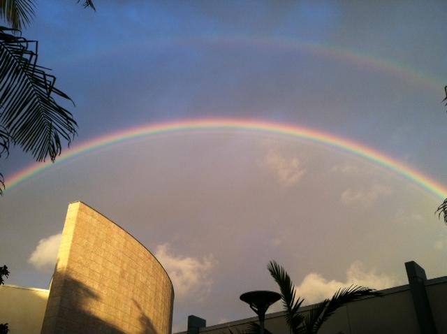Double Rainbow All the Way Across Culver City
