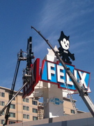 Felix the Cat car dealership