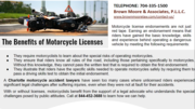 The Benefits of Motorcycle Licenses