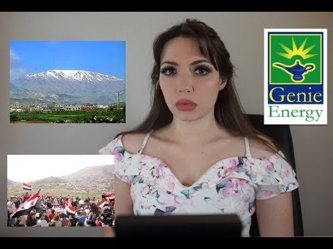 The Truth about Syria's Golan Heights and #GenieEnergy