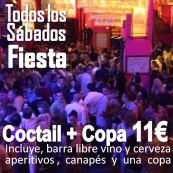 Cocktail y Fiesta TRAVEL PARTY para Viajeros y Profesionales de Turismo solteros