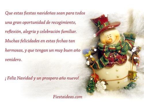 Feliz Navidad Y Un Prospero Año Nuevo Fiestaideas Com
