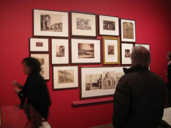 Part of the V&A photography gallery re-hang