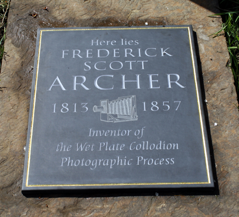Scott Archer commemorative plaque / © Michael Pritchard 2010