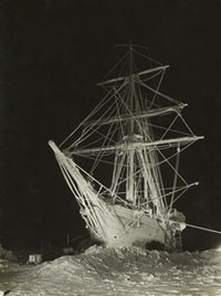 Frank Hurley, The Endurance in the garb of winter, 1915. © Royal Collection