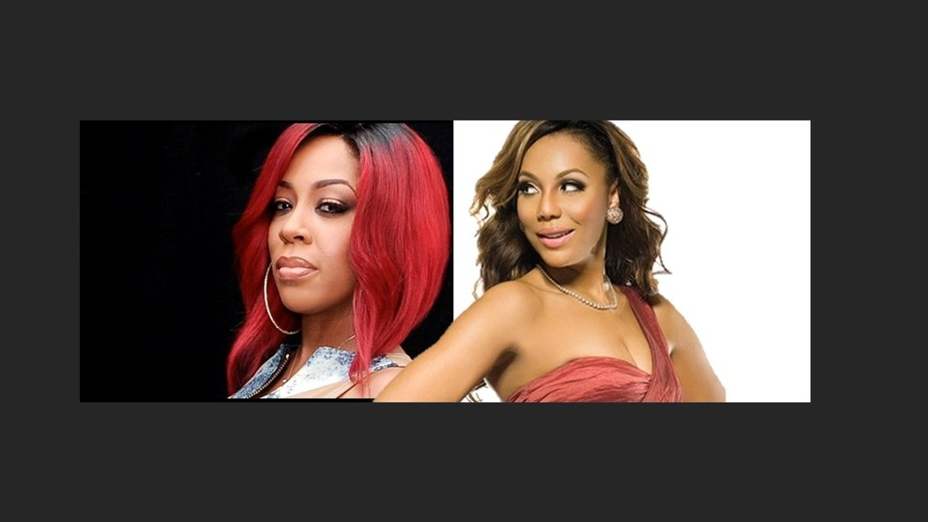 K. Michelle Wants To End Beef With Tamar Braxton - YouTube