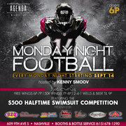 Monday Night Football & Halftime Swimsuit Competition