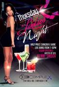 Thursday Ladies‏ Night