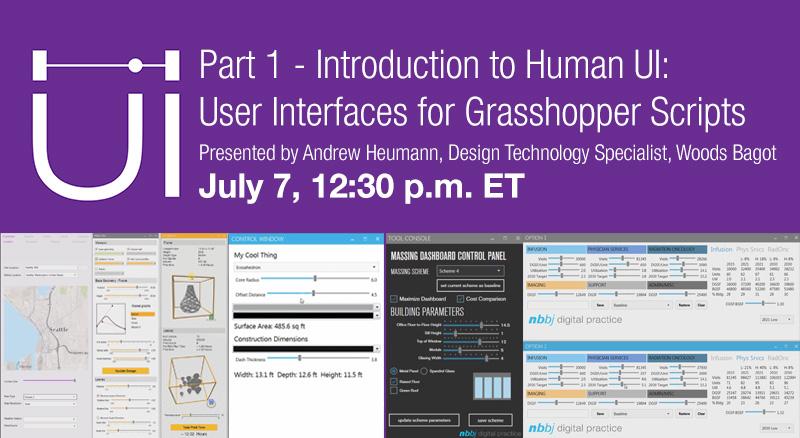 Human UI Webinars - Beginner and Intermediate - Grasshopper