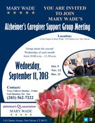 Alzheimer's Caregiver Support Group at Mary Wade