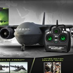 RC airplane included in Splinter Cell Blacklist Collector's Edition
