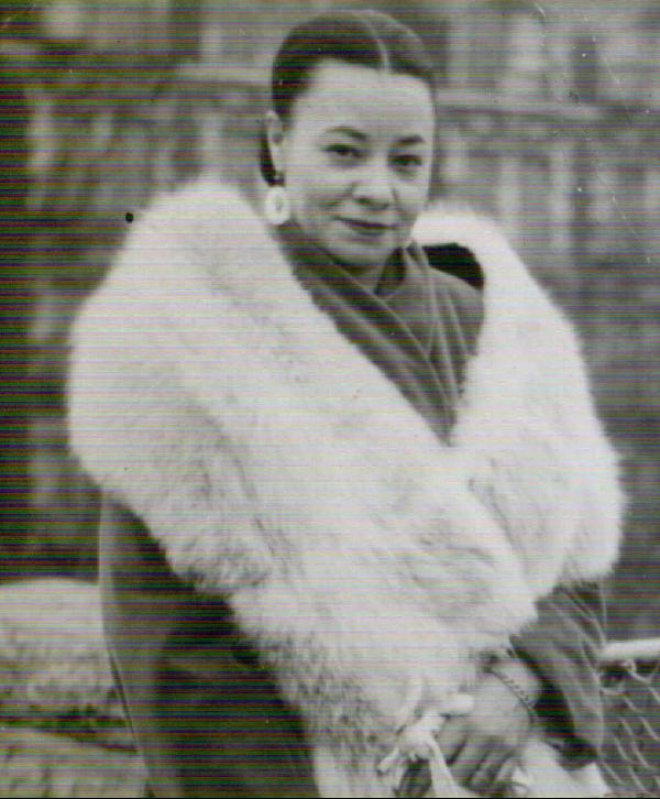 Mayme Johnson, the widow of infamous Harlem gangster
