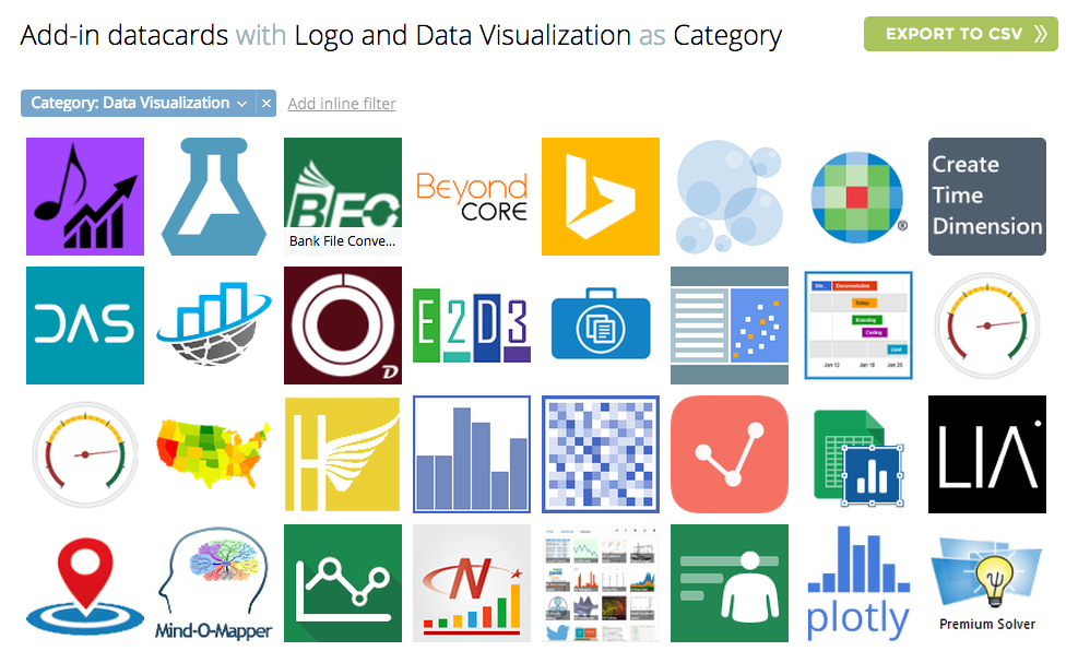 Excel Add-Ins Database: Now At 245 Modules to Put Your Excel On