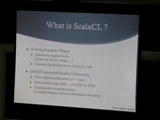 ScalaCL - Run Scala on GPUs - Data Science Central