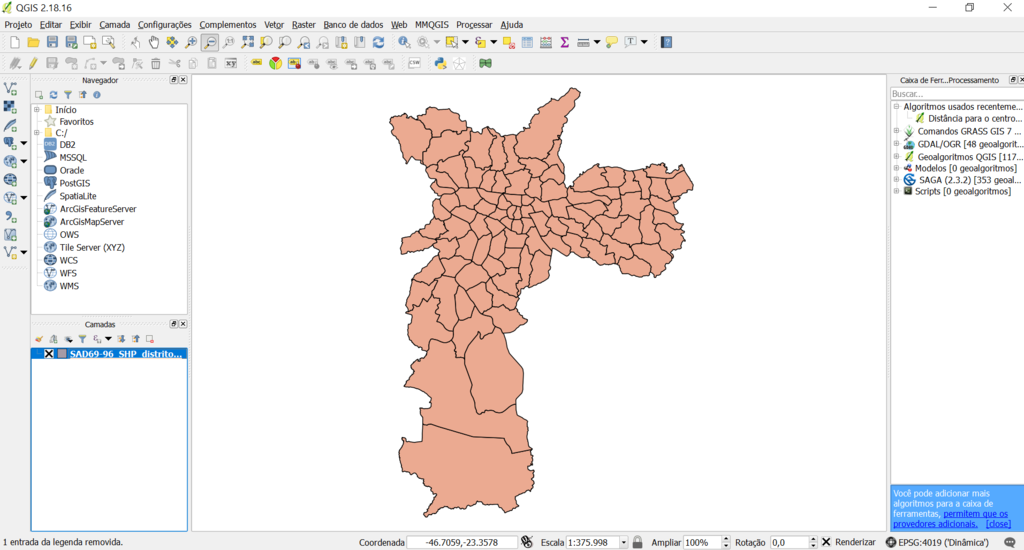 Analyzing Geographic Data with QGIS - Part 1 - Data Science