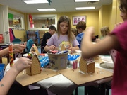Afterschool Crafts - Gingerbread Houses 2016