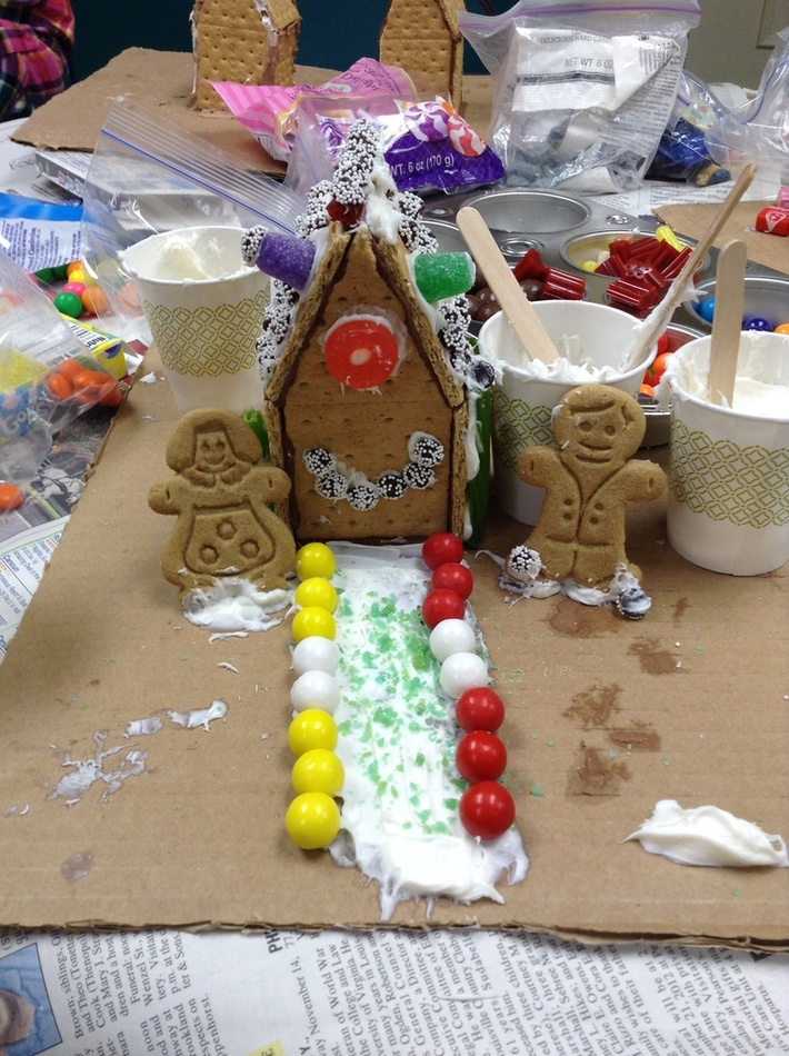 Gingerbread Houses - ASC Dec. 2017
