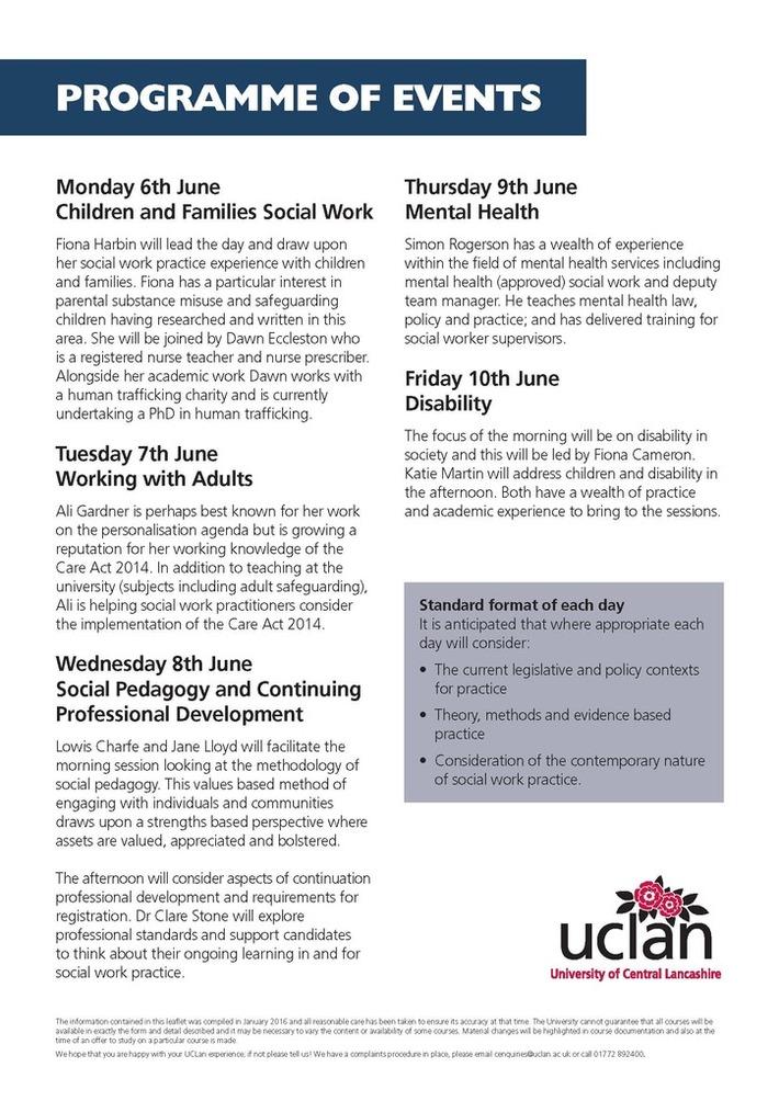 Return to Social Work Practice - June 2016 (Page 2)