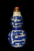 Chinese Dragon Snuff Bottles at Drexel University