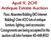 Antique Estate Auction - Fontaine's Antique Auction Gallery