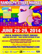 RANDOLPH STREET MARKET JUNE 2014 PRIDE PARTY