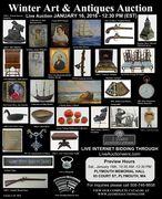 Winter Art & Antiques Auction
