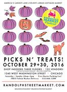 Randolph Street Market - OCT 29+30, 2016 - Indoor Event