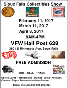 Sioux Falls Collectibles Show
