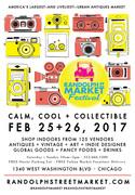 Randolph Street Market Chicago - FEB 25+26, 2017 - Indoor Event